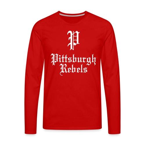 Pittsburgh Rebels - Men's Premium Long Sleeve T-Shirt