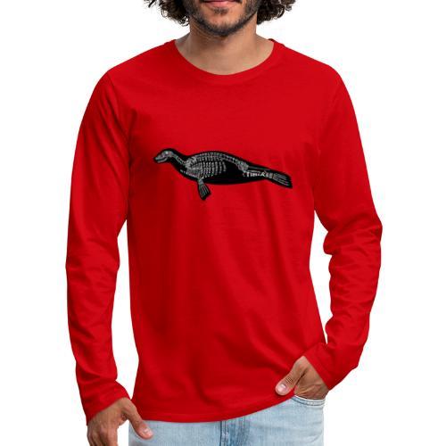 Skeleton Seal - Men's Premium Long Sleeve T-Shirt