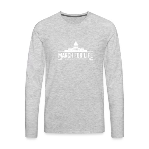March for Life Capitol 2020 - Men's Premium Long Sleeve T-Shirt