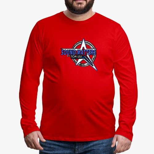 SOUND MATTERS Badge - Men's Premium Long Sleeve T-Shirt