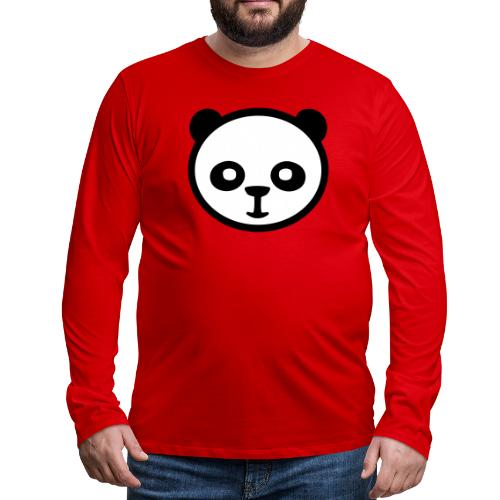 Panda bear, Big panda, Giant panda, Bamboo bear - Men's Premium Long Sleeve T-Shirt