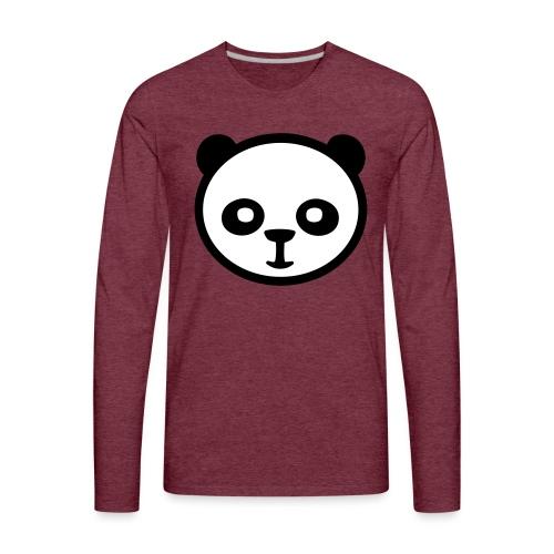 Panda bear, Big panda, Giant panda, Bamboo bear - Men's Premium Long Sleeve T-Shirt