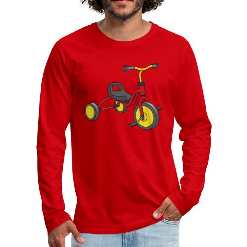 Tricycle for kids - Men's Premium Long Sleeve T-Shirt