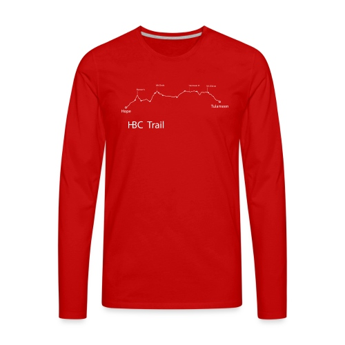 HBC Trail Elevation - Men's Premium Long Sleeve T-Shirt