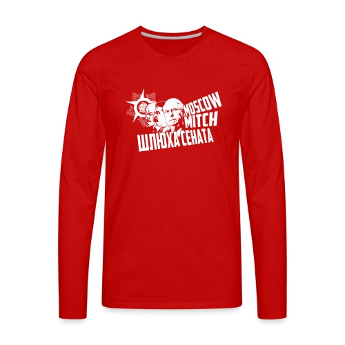 Moscow Mitch - Whore of the Senate - Men's T-Shirt - Men's Premium Long Sleeve T-Shirt
