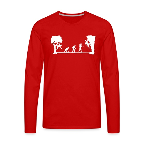 Apes Climb - Men's Premium Long Sleeve T-Shirt