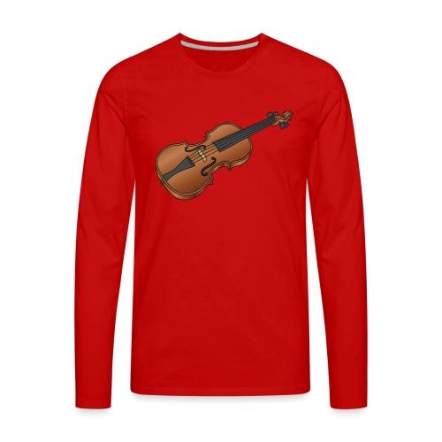 Violin, fiddle - Men's Premium Long Sleeve T-Shirt