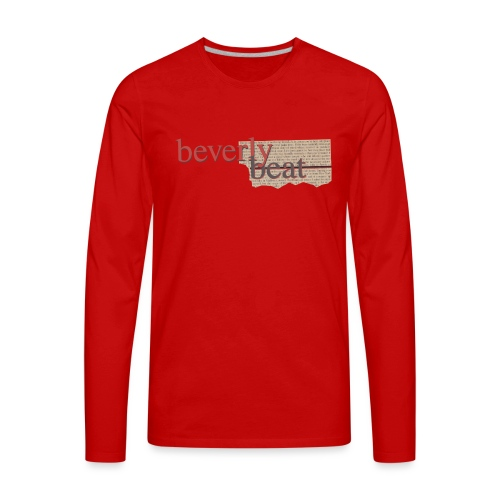 BevBeat Shirt 90210 01 - Men's Premium Long Sleeve T-Shirt