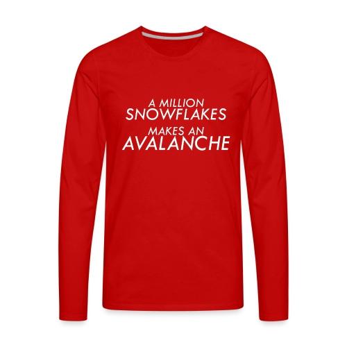 Liberal Snowflakes - Men's Premium Long Sleeve T-Shirt