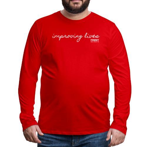 improving lives - Men's Premium Long Sleeve T-Shirt