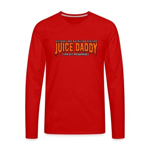 Juice Daddy Preworkout - Men's Premium Long Sleeve T-Shirt
