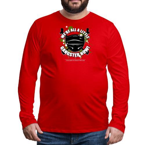 Covid Gangster - Men's Premium Long Sleeve T-Shirt