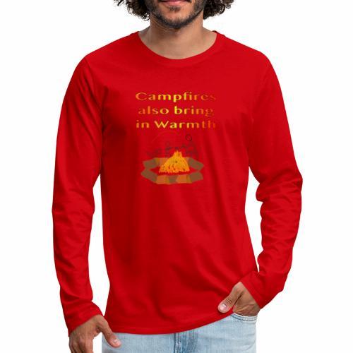Around the Campfire - Men's Premium Long Sleeve T-Shirt