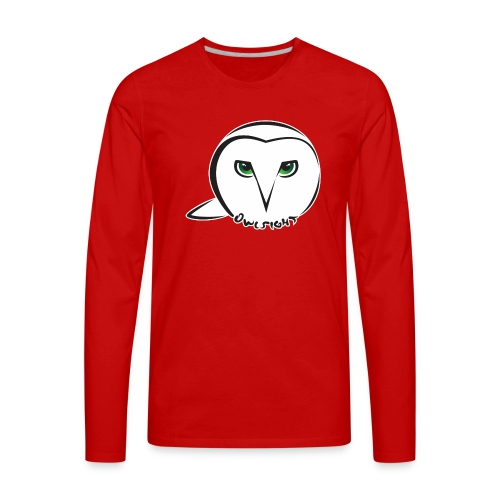 Owlsight - Men's Premium Long Sleeve T-Shirt