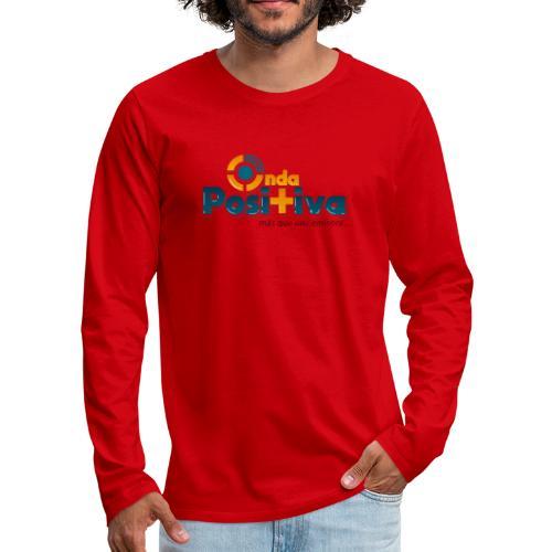 más que una emisora - Men's Premium Long Sleeve T-Shirt