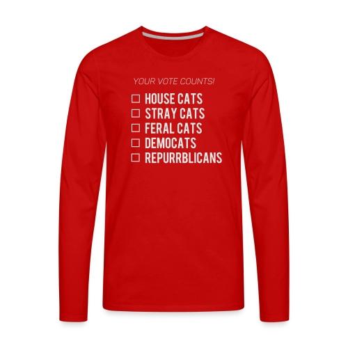 Democats & Repurrblicans - Men's Premium Long Sleeve T-Shirt
