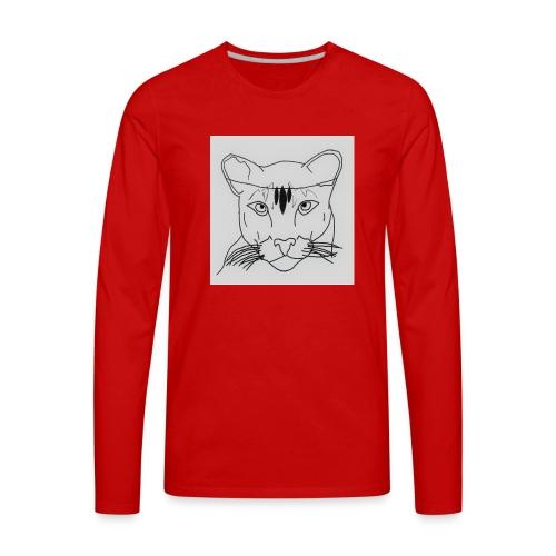 Lioness - Men's Premium Long Sleeve T-Shirt