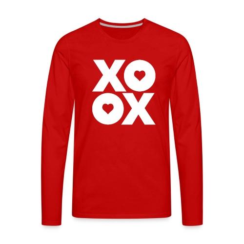 Valentine's Day XOXO - Men's Premium Long Sleeve T-Shirt