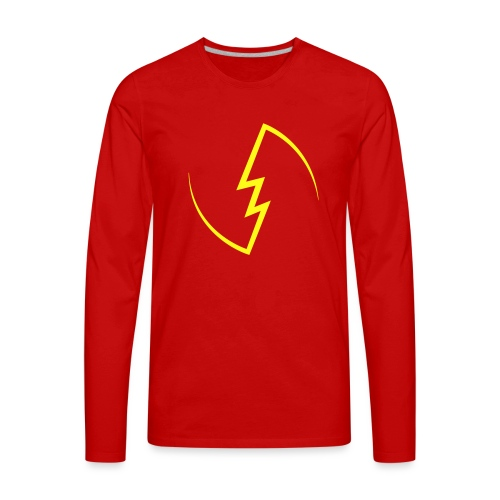 Electric Spark - Men's Premium Long Sleeve T-Shirt