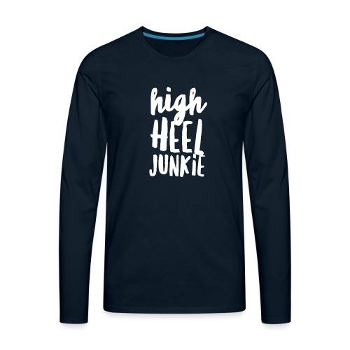 HHJ-White - Men's Premium Long Sleeve T-Shirt