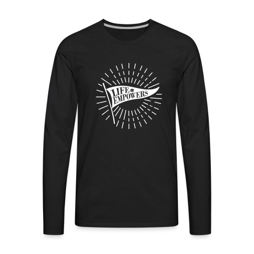 Life Empowers - Men's Premium Long Sleeve T-Shirt
