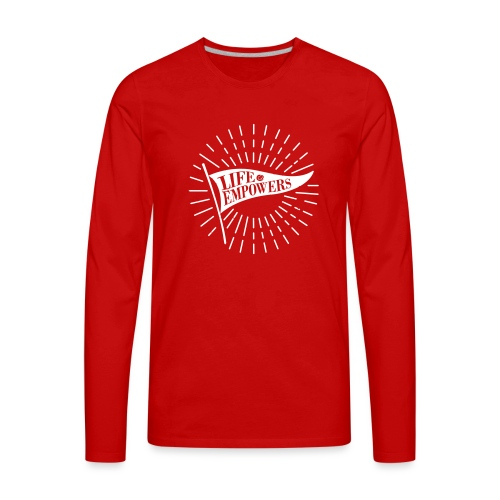 Life Empowers - Men's Premium Long Sleeve T-Shirt