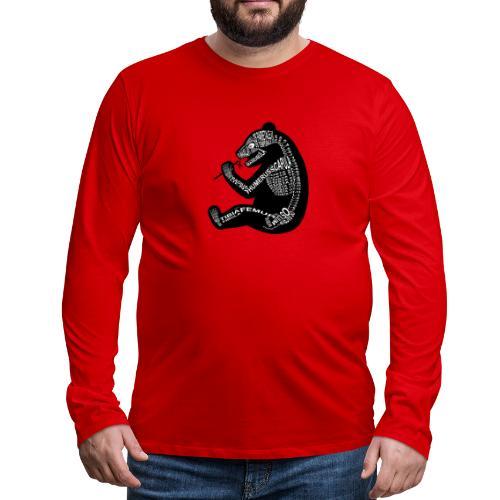 Skeleton Panda - Men's Premium Long Sleeve T-Shirt
