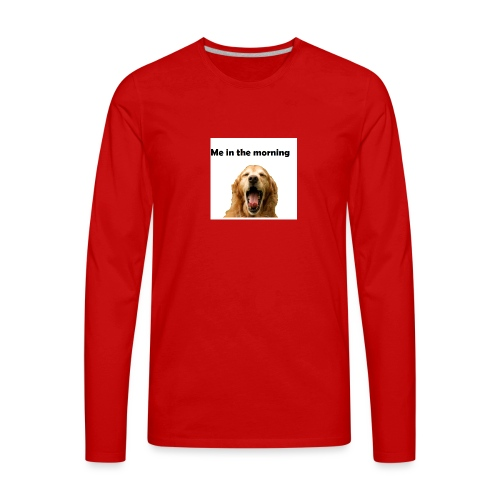 doggo - Men's Premium Long Sleeve T-Shirt