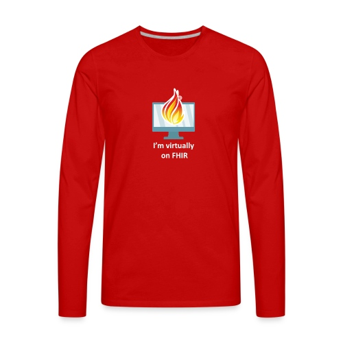 HL7 FHIR DevDays 2020 - Desktop - Men's Premium Long Sleeve T-Shirt