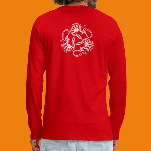 Final and Most Erect Shrimp - Men's Premium Long Sleeve T-Shirt