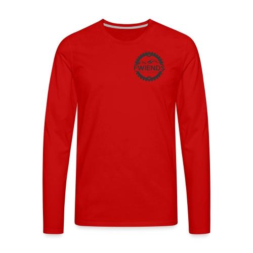 Fwiends Logo - Men's Premium Long Sleeve T-Shirt