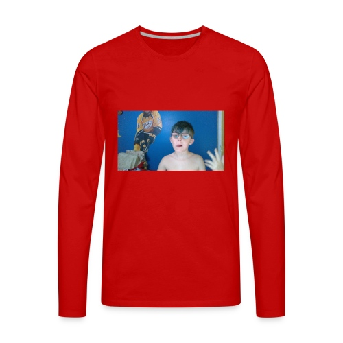WIN 20180418 19 50 13 Pro - Men's Premium Long Sleeve T-Shirt