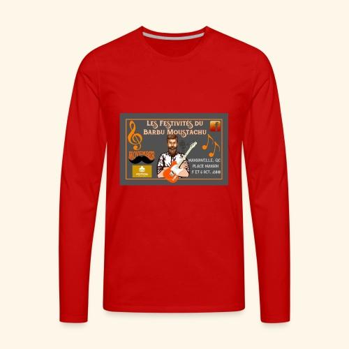 Les FestivitEs LOGO - Men's Premium Long Sleeve T-Shirt