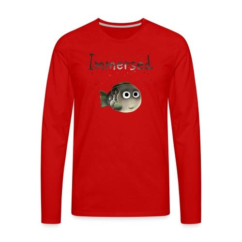 Cute Little Fishy - Men's Premium Long Sleeve T-Shirt