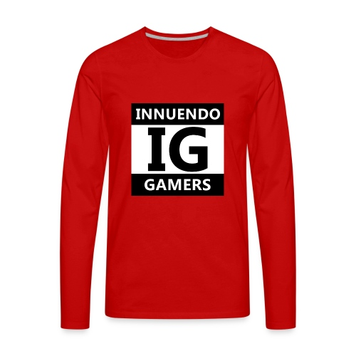 Innuendo Gamers - Men's Premium Long Sleeve T-Shirt