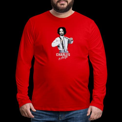 CHARLEY IN CHARGE - Men's Premium Long Sleeve T-Shirt
