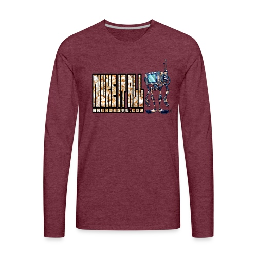 Nuke It All! 💥🍿 - Men's Premium Long Sleeve T-Shirt