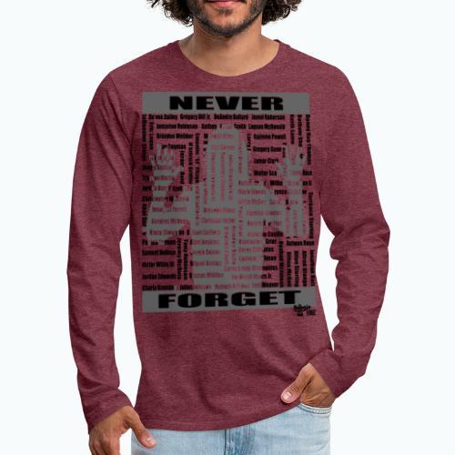 rest in paradise - Men's Premium Long Sleeve T-Shirt