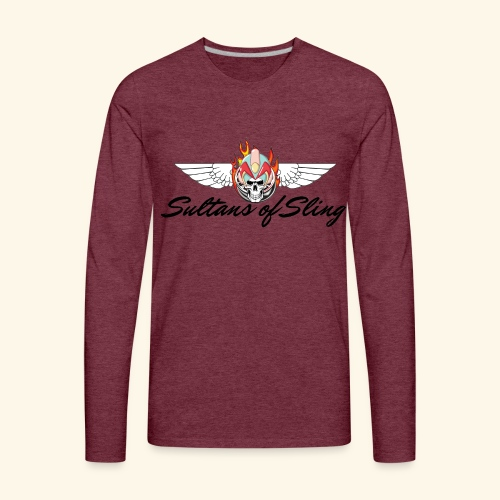 Sultans of Sling Shirt Logo - Men's Premium Long Sleeve T-Shirt
