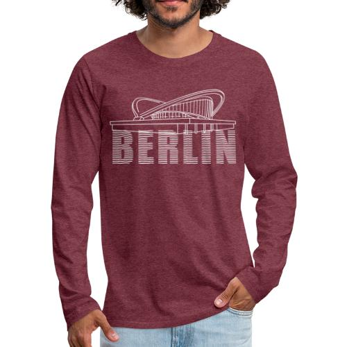 Pregnant oyster Berlin - Men's Premium Long Sleeve T-Shirt