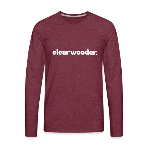 Clearwooder - Men's Premium Long Sleeve T-Shirt