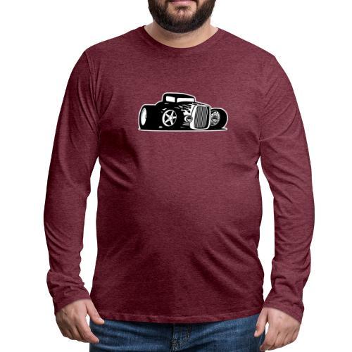 Seventies Classic American Muscle Car - Men's Premium Long Sleeve T-Shirt