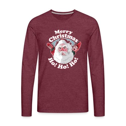 Merry Christmas...Ho! Ho! Ho! A Great Christmas - Men's Premium Long Sleeve T-Shirt