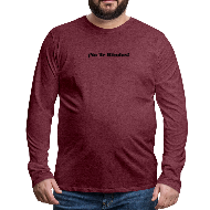 Do not Give Up (Spanish) No Te Rindas Motivational - Men's Premium Long Sleeve T-Shirt