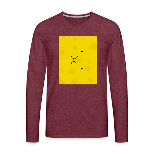 Spongy Case 5x4 - Men's Premium Long Sleeve T-Shirt