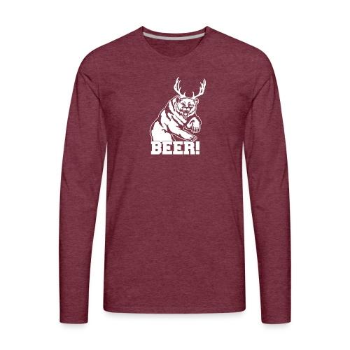 Macs Bear - Men's Premium Long Sleeve T-Shirt