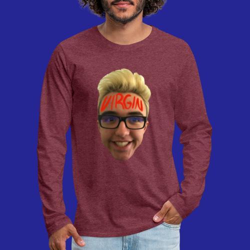 VIRGIN - Men's Premium Long Sleeve T-Shirt