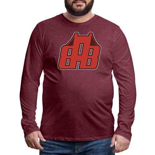 Bay Area Buggs Official Logo - Men's Premium Long Sleeve T-Shirt