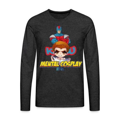 KATSU MENTAL COSPLAY - Men's Premium Long Sleeve T-Shirt