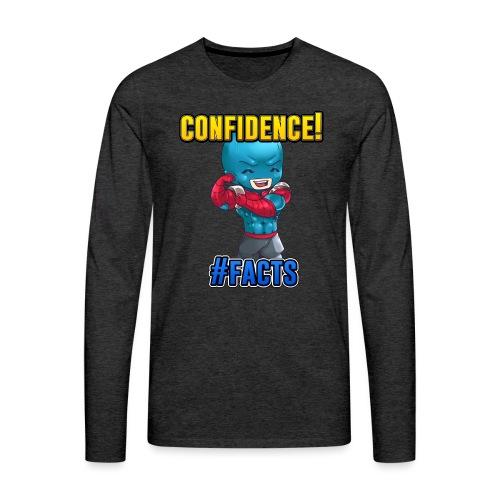 CONFIDENCE - Men's Premium Long Sleeve T-Shirt